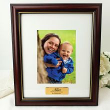 Godmother Classic Wood Photo Frame 5x7 Personalised Message