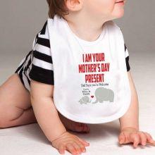 Personalised Mothers Day Bib -Elephant