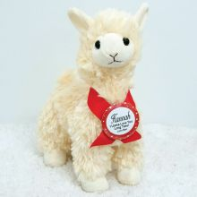 Love You Llama Plush Valentines Gift