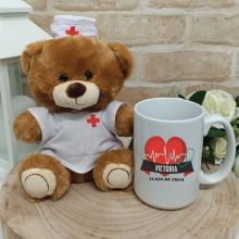 Nurse Graduation Bear & Mug Set
