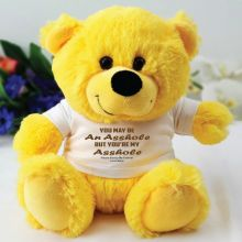 You're A .... Valentines Bear - Yellow