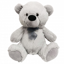 Grey Teddy Bear 40cm Plush