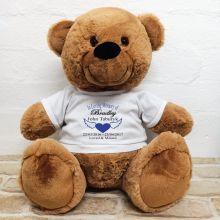 In Loving Memory Teddy Bear 40cm Brown
