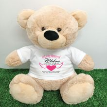 In Loving Memory Teddy Bear 40cm Cream