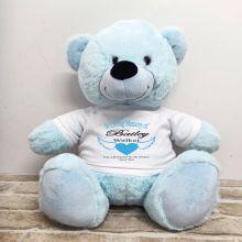 In Loving Memory Teddy Bear 40cm Light Blue