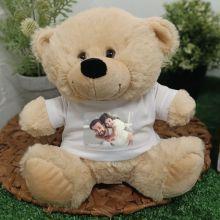 Personalised Photo T-Shirt Teddy Bear - Cream
