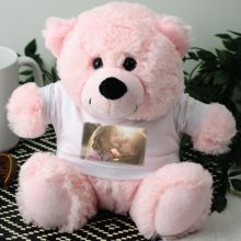 Personalised Photo T-Shirt Teddy Bear - Pink