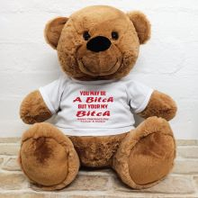 Valentines Bear You may Be A - 40cm  Brown