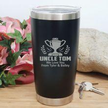 Uncle Insulated Travel Mug 600ml Black