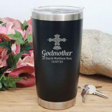 Godmother Personalised Insulated Travel Mug 600ml Black