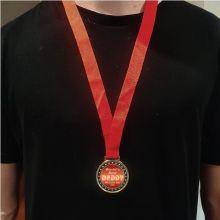 Greatest Dad Award Medal - Personalised