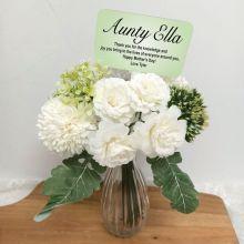 Aunt  Allium Floral Bouquet Personalised Picket