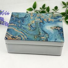 Fortune of Blue Mirrored Jewellery Box