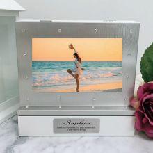 Personalised Photo Keepsake Diamente Trinket Box