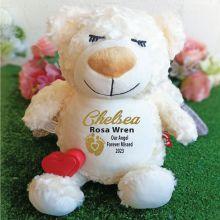 Recordable Memorial Guardian Angel Cubbie Bear Plush