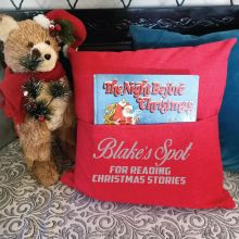Personalised Christmas Pocket Pillow Cover