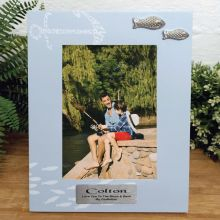 Personalised Godfather Fishing Frame 6x4