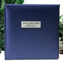 Personalised Blue Photo Album - 200