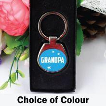 Grandpa Boxed Keyring Gift