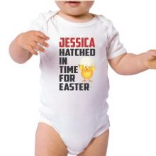 Personalised Easter Bodysuit - Hatched