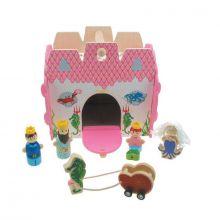 Mermaid Castle Wooden Playset - Koala Dream