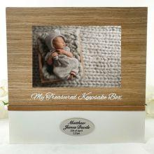 Personalised Baby Memory Keepsake Box