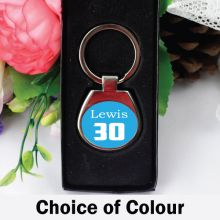 Personalised 30th Birthday Keyring Gift