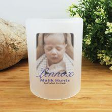 Baby Memorial Photo Tea Light Candle Holder