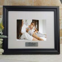 Personalised 1st Frame Black Timber Hathorne 5x7