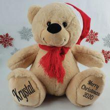 Christmas Personalised Teddy Bear 40cm Plush