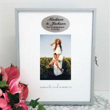 Engagement Keepsake Box with Personalised Plaque