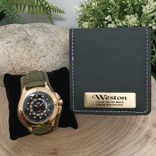 Axim Mens Watch Personalised Anniversary Box