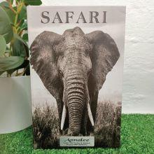 Elephant Black & White 80th Birthday Stash Book Box