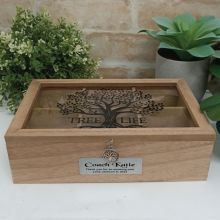 Coach Tree of Life Tea Box