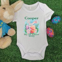Personalised Easter Bodysuit - Boo Bunny