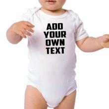 Special Order Baby Bodysuit - Vinyl Design