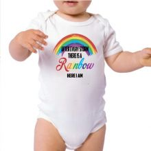 Baby Bodysuit Rainbow Baby