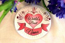Worlds Best Nana Badge
