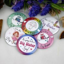 Sister To Be Baby Shower Badge