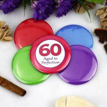 60th Birthday Party Badge