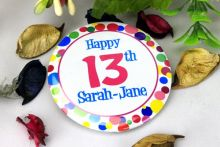 Personalised 13th Party Badge