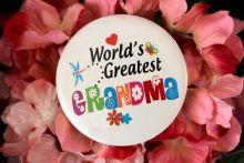 Worlds Greatest Grandma Badge
