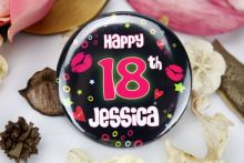 Personalised 18th Party Badge