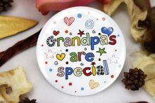 Grandpas are special Badge