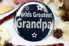 Worlds Greatest Grandpa Badge