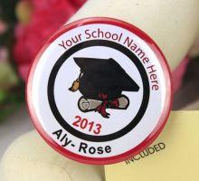 Personalised Graduation Badge