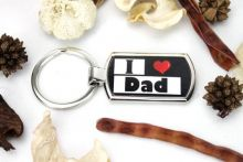 I Love My Dad Keyring