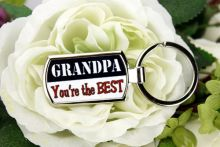 Grandad Your the Best keyring