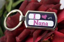 I Love My Nana Keyring Assorted Colours