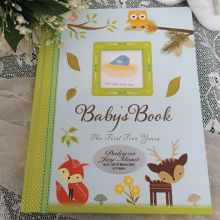 Baby Record Book First 5 Years - Woodland
